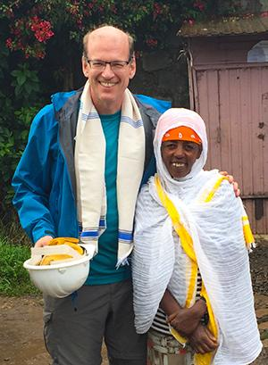 Ethiopia: Jonathan Reckford travels to build